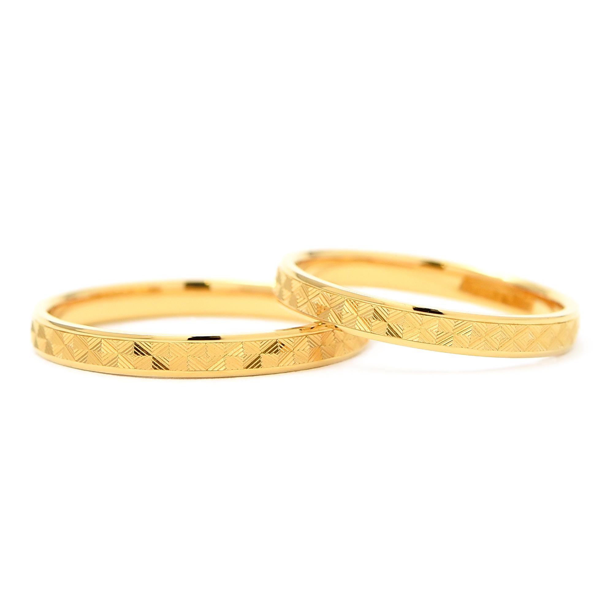 輪高崎工房の結婚指輪|TJ-20