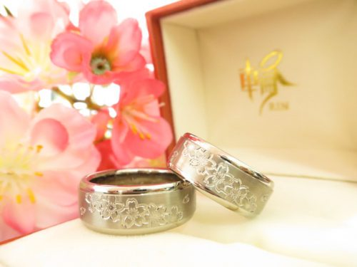 お客様の結婚指輪 IMG_6151