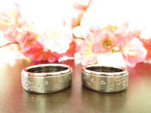 お客様の結婚指輪 IMG_6152