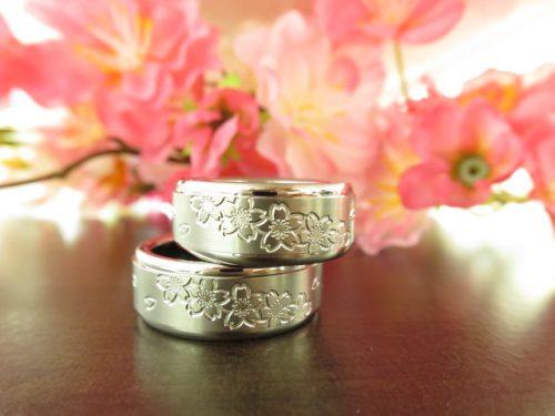 お客様の結婚指輪 IMG_6154
