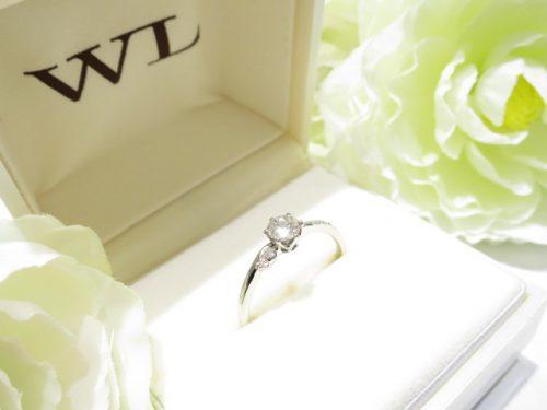 輪ファミリーの婚約指輪|IMG_6223