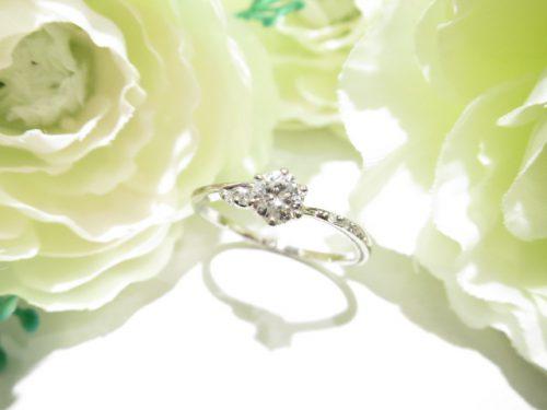 輪ファミリーの婚約指輪|IMG_6225