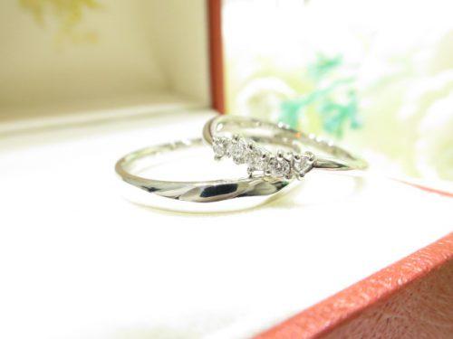 輪ファミリーの結婚指輪 IMG_6249