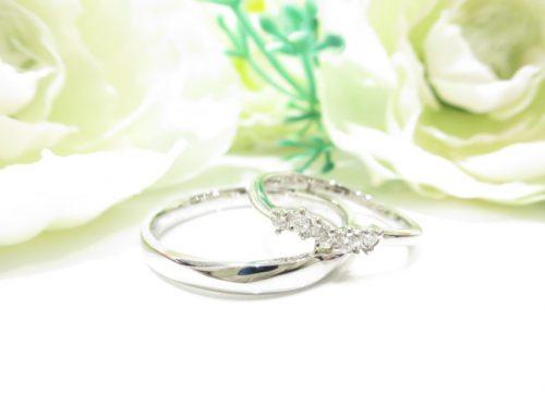 輪ファミリーの結婚指輪 IMG_6250