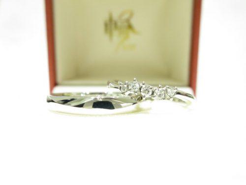 輪ファミリーの結婚指輪 IMG_6251