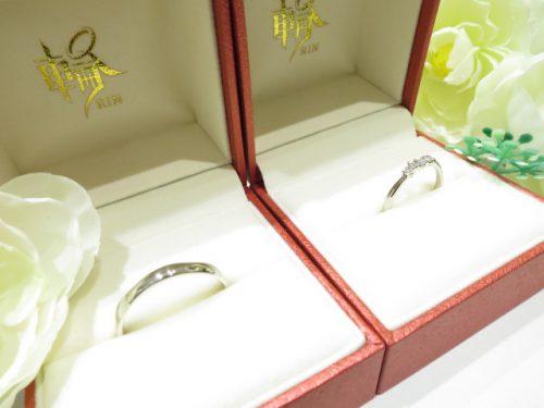 輪ファミリーの結婚指輪 IMG_6252