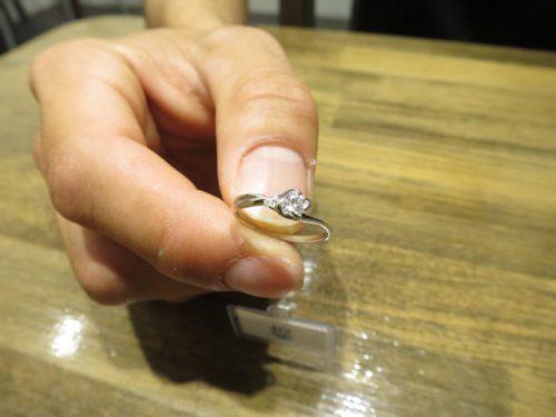 輪ファミリー婚約指輪|IMG_6328