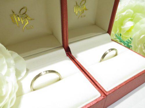 輪ファミリーの結婚指輪|IMG_6329