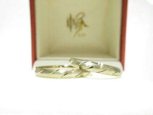 輪ファミリーの結婚指輪|IMG_6330