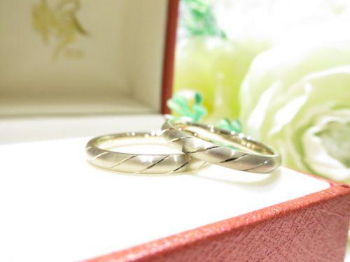 輪ファミリーの結婚指輪|IMG_6331