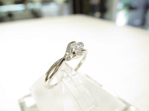 輪高崎工房の婚約指輪 IMG_6336