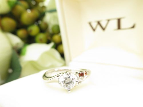 高崎工房の婚約指輪 IMG_6404