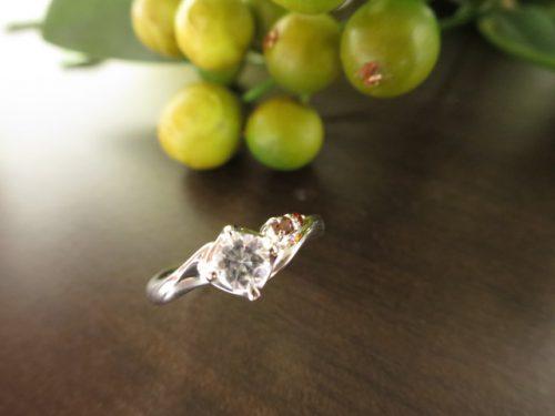 高崎工房の婚約指輪 IMG_6407