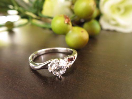 高崎工房の婚約指輪 IMG_6409