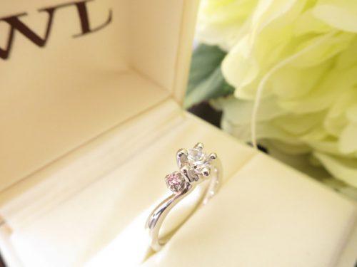 高崎工房の婚約指輪|IMG_6673