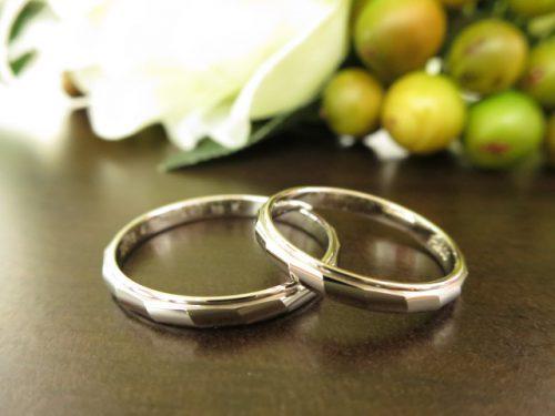 お客様の結婚指輪|IMG_6719