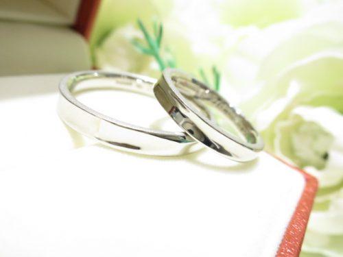 輪ファミリーの結婚指輪|IMG_7378