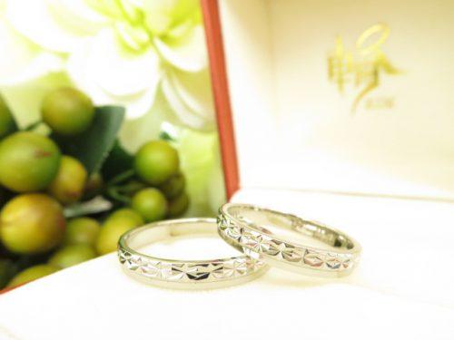 お客様の結婚指輪|IMG_7721