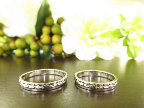 お客様の結婚指輪|IMG_7728