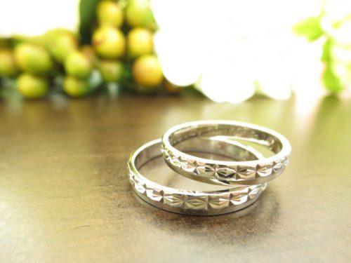 お客様の結婚指輪|IMG_7732