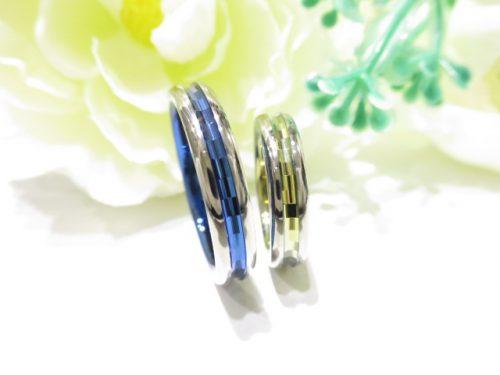 輪ファミリーの結婚指輪|IMG_7903