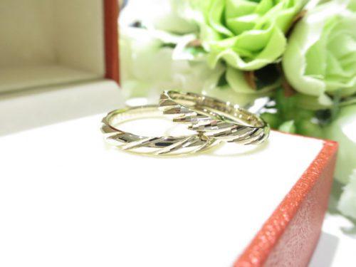 輪ファミリーの結婚指輪 IMG_7906