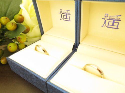 お客様の結婚指輪 IMG_8225
