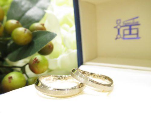 お客様の結婚指輪 IMG_8226