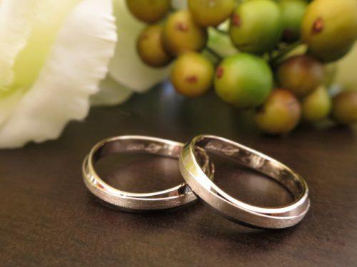 お客様の結婚指輪 IMG_8228