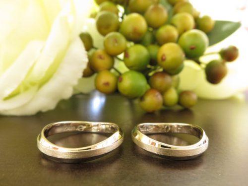 お客様の結婚指輪 IMG_8229