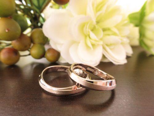 お客様の結婚指輪 IMG_8230