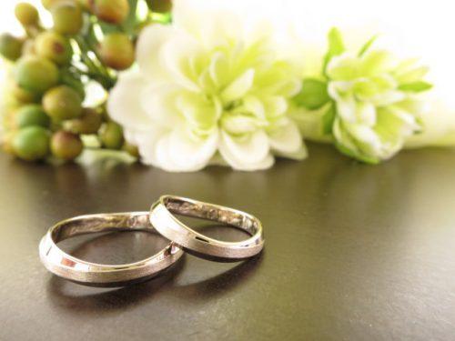お客様の結婚指輪 IMG_8232