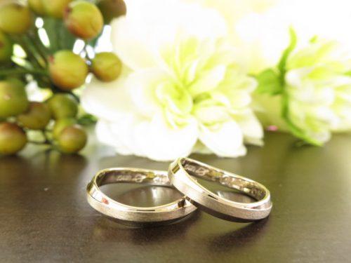 お客様の結婚指輪 IMG_8233