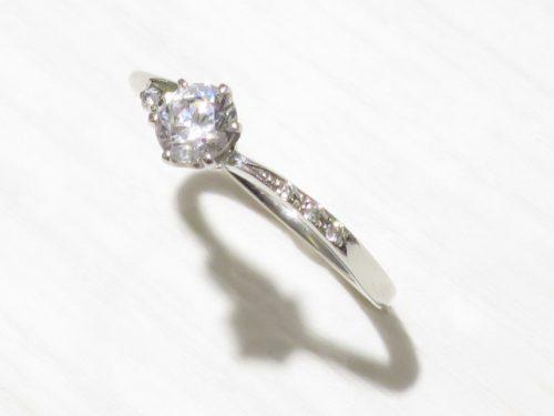 輪高崎工房の婚約指輪 IMG_8539