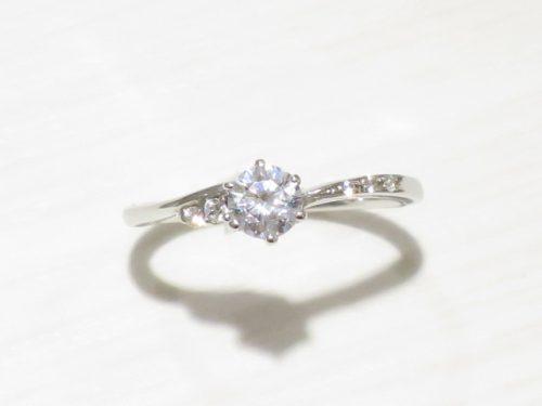 輪高崎工房の婚約指輪 IMG_8542