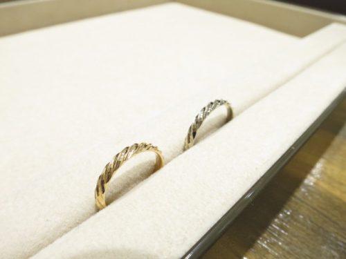 お客様の結婚指輪|IMG_8845