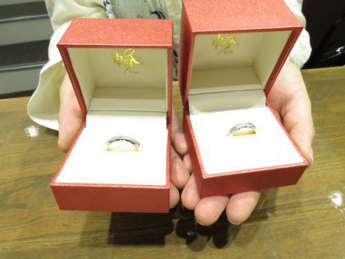 お客様の結婚指輪|IMG_8883
