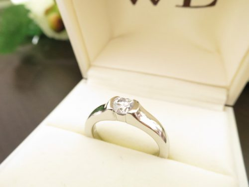 高崎工房の婚約指輪|IMG_8907