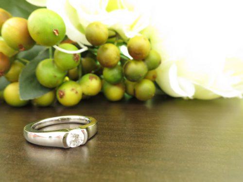高崎工房の婚約指輪|IMG_8911