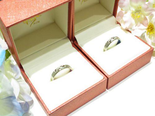 輪ファミリーの結婚指輪 IMG_0195