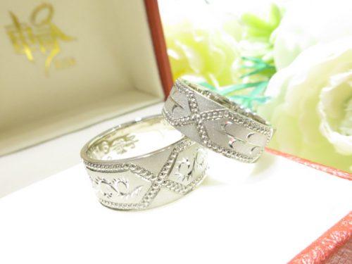 輪ファミリーの結婚指輪|IMG_1600
