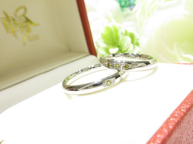 輪ファミリーの結婚指輪|IMG_1609