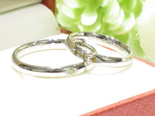 輪ファミリーの結婚指輪|IMG_1610