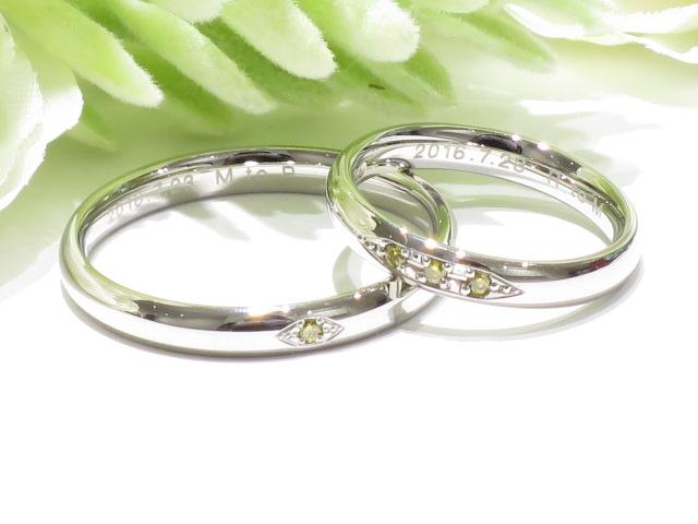輪ファミリーの結婚指輪|IMG_1611