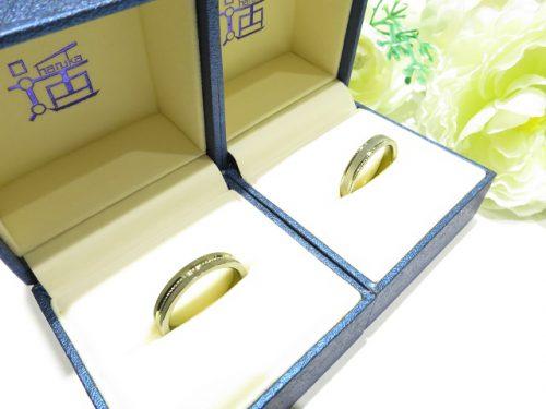 輪ファミリーの結婚指輪|IMG_9838