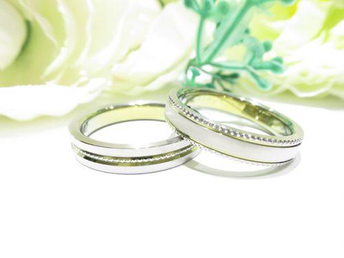 輪ファミリーの結婚指輪|IMG_9848