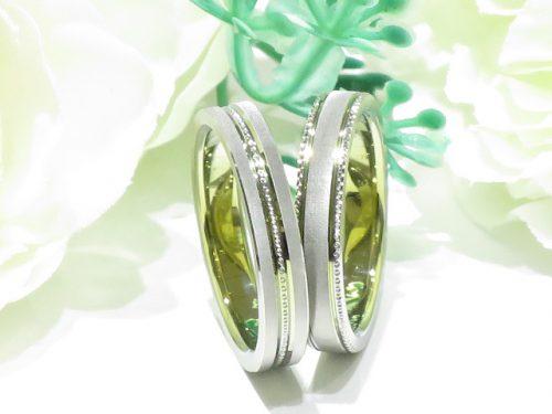 輪ファミリーの結婚指輪|IMG_9855