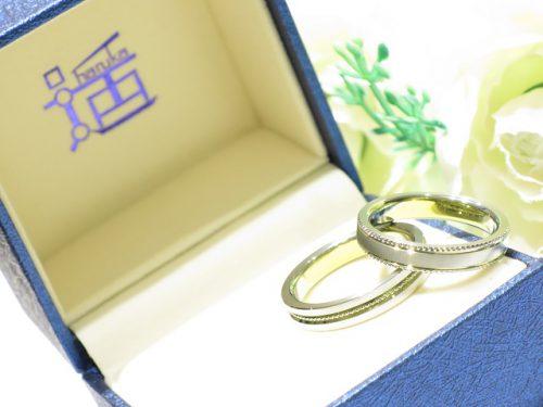 輪ファミリーの結婚指輪|IMG_9862