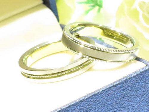 輪ファミリーの結婚指輪|IMG_9864