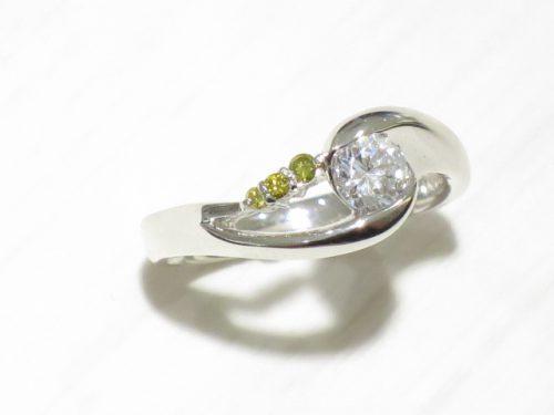 輪高崎工房の婚約指輪|IMG_2095